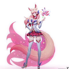 Star Guardian Ahri Concept 9 (by Riot Artist <a href=