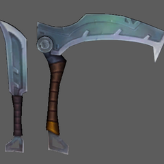 Silverfang Akali Update Model 4 (by Riot Artists <a href=