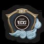 Emotka Mistrzostwa 2017 – EDG