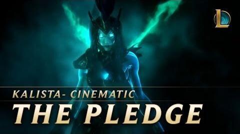 Kalista The Pledge New Champion Teaser - League of Legends