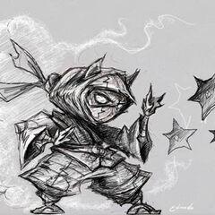 Kennen Concept 2 (by Riot Artist Edmundo 'odnumde' Sanchez)