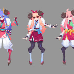 Spirit Blossom Kindred Concept 3 (by Riot Artist <a href=