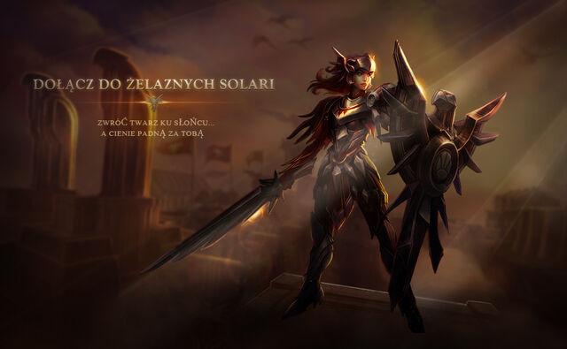 Leona Żelazna Solari chce Ciebie!