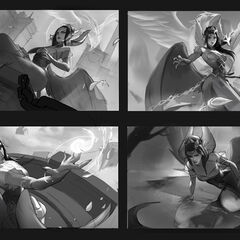 Majestic Empress Morgana Splash Concept (by Riot Contracted Artist <a rel=