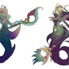 River Spirit Nami Concept (by Riot Artist <a href=