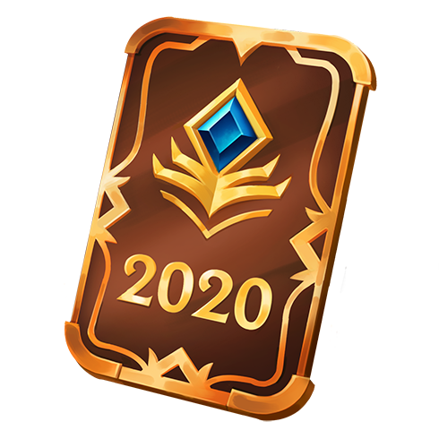 100 жетонов Очков престижа 2020