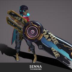 True Damage Senna Model 3 (by Riot Artist <a href=
