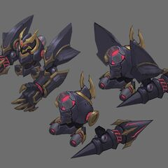Lancer Rogue Blitzcrank Concept 3 (by Riot Artist <a rel=