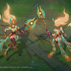 Guardian of the Sands Janna Concept 3 (by Riot Artist <a href=