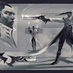 Lucian Concept 3 (by Riot Artist <a href=