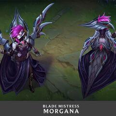 Blade Mistress Morgana Update Concept 1 (by Riot Artist <a href=