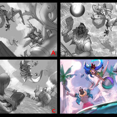 Pool Party 2018 Splash Concept 1 (by Riot Artist <a href=
