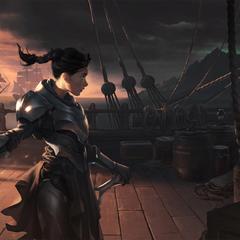 Cithria, Vanguard Squire