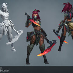 Headhunter Akali Update Model 1 (by Riot Artists <a href=