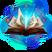 Libro de Hechizos Abierto runa