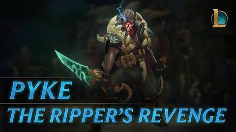 Pyke The Ripper's Revenge Champion Trailer - League of Legends