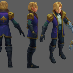 Ace of Spades Ezreal Update Model 2 (By Riot Artist <a rel=