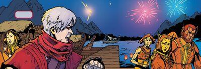 Sotka River Zed Comic