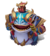 Tahm Kench CoinEmperor (Aquamarine)