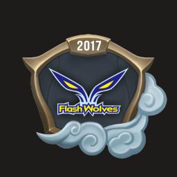 Worlds 2017 Flash Wolves Emote