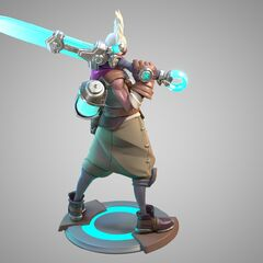 Ekko Statue Model 2 (by Riot Artists <a href=