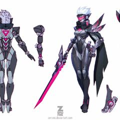 PROJECT: Fiora Concept (by Riot Artist <a href=
