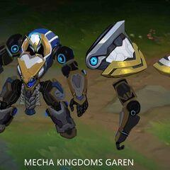 Mecha Kingdoms Garen Concept 2 (by Riot Artist <a rel=