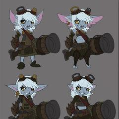 Tristana Update Concept 1 (by Riot Artist <a href=