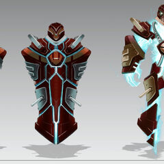 Battlecast Xerath Concept (by Riot Artist <a href=