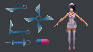 Akali Update Nurse Model 02