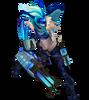 Jinx PROJEKT: Jinx (Aquamarin) M