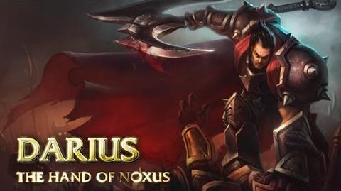 Prezentacja Bohatera - Darius, Ręka Noxus