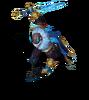 Pyke Blutmond-Pyke (Aquamarin) M