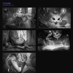 Yuumi Splash Concept 1 (by Riot Artist <a href=