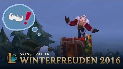 Ein Schneemärchen der Winterfreuden Winterfreuden 2016 Skins-Trailer – League of Legends