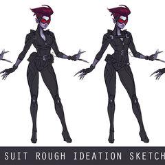 Safecracker Evelynn Update Concept 3 (by Riot Artist <a href=