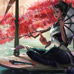 Traditional Karma Update Splash Concept 5 (by Riot Artist <a href=