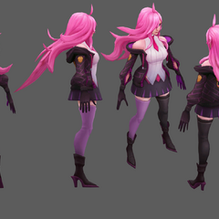 Battle Academia Katarina Model