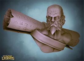 Ryze 3D Skulptur