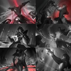 Blood Moon Twisted Fate Splash Concept (by Riot Artist <a href=