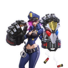 Officer Vi Concept (by Riot Artist <a href=