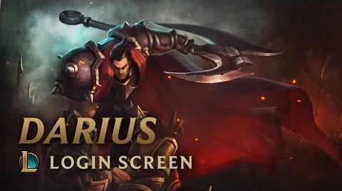 Darius - ekran logowania