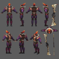 Beast Hunter Draven Model 2 (by Riot Artist <a href=