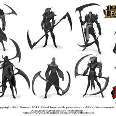 Kayn Concept 7 (by Riot Artist <a rel=