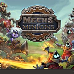 Mechs vs. Minions Concept 1 (by Riot Artist <a rel=