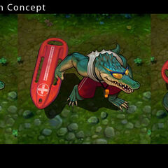 Pool Party Renekton Concept (by Riot Artist <a href=