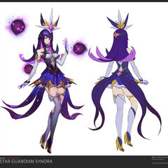 Star Guardian Syndra Concept 2 (by Riot Artist <a href=