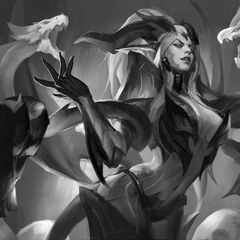 Dragon Sorceress Zyra Splash Concept 1 (by Riot Artist <a href=