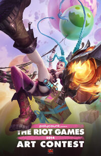 Jinx Polycount Poster