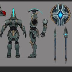 Full Metal Pantheon Update Concept 4 (by Riot Artist <a href=